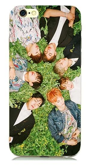 KPOP BTS celular carcasa para iPhone 4/4S/5/5S/6/6plus Bangtan Boys jimin Jin J-Hope en flor teléfono móvil Caso (tipo 7 para iphone 5/5S): Amazon.es: ...