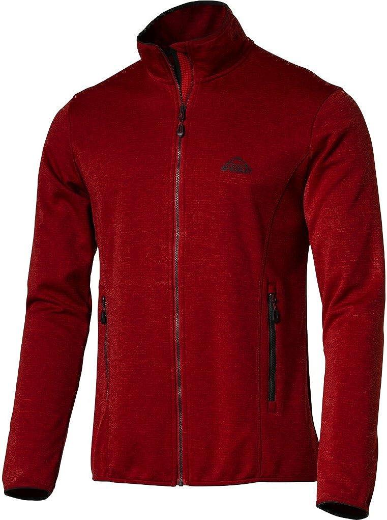 McKinley Herren Sport Outdoor Jacke Fleecejacke Roto 237324 Dry Plus Climate Neu