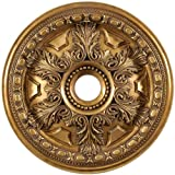 Arctel CM828-VG Vintage Gold Finished Ceiling Medallion 28 inches