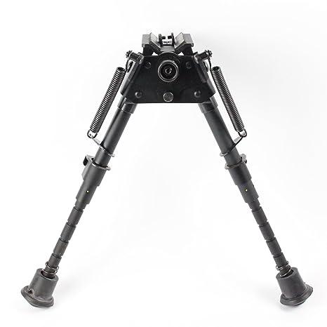 Hunting 6-9 harris style Bipods Heavy Duty 50 Degree tilt-level Pivot W/O rail adapter Range & Shooting Accessories