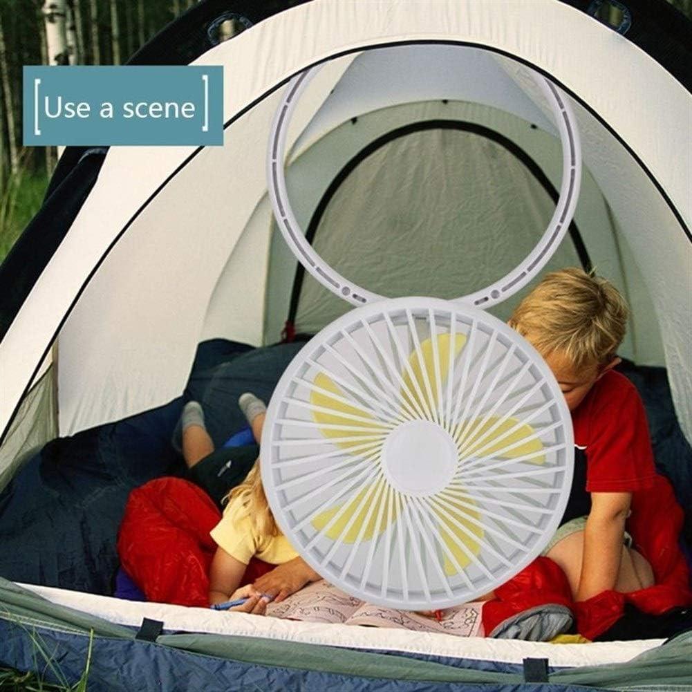 Air Cooler Mini USB Power Desk Stand Fan Cute Hangable Fan Home Office Desktop Decoration Portable Hot Summer Supply Color : Black