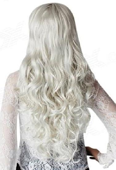 Amazon new hair extensions clip in set x x long 24 ins new hair extensions clip in set x x long 24 ins silver grey wavy 180 pmusecretfo Choice Image