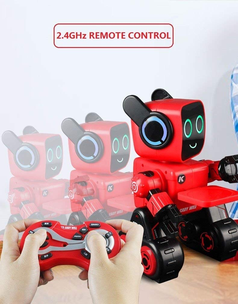 Hi-Tech Wireless Interactive Robot RC Robot Toy for Boys, Girls, Kids, Children (Red) by HI-TECH OPTOELETRONICS CO., LTD. (Image #2)