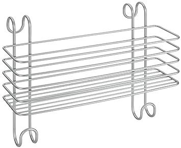metaltex radius large storage basket for bathroom heated towel radiator polytherm coated