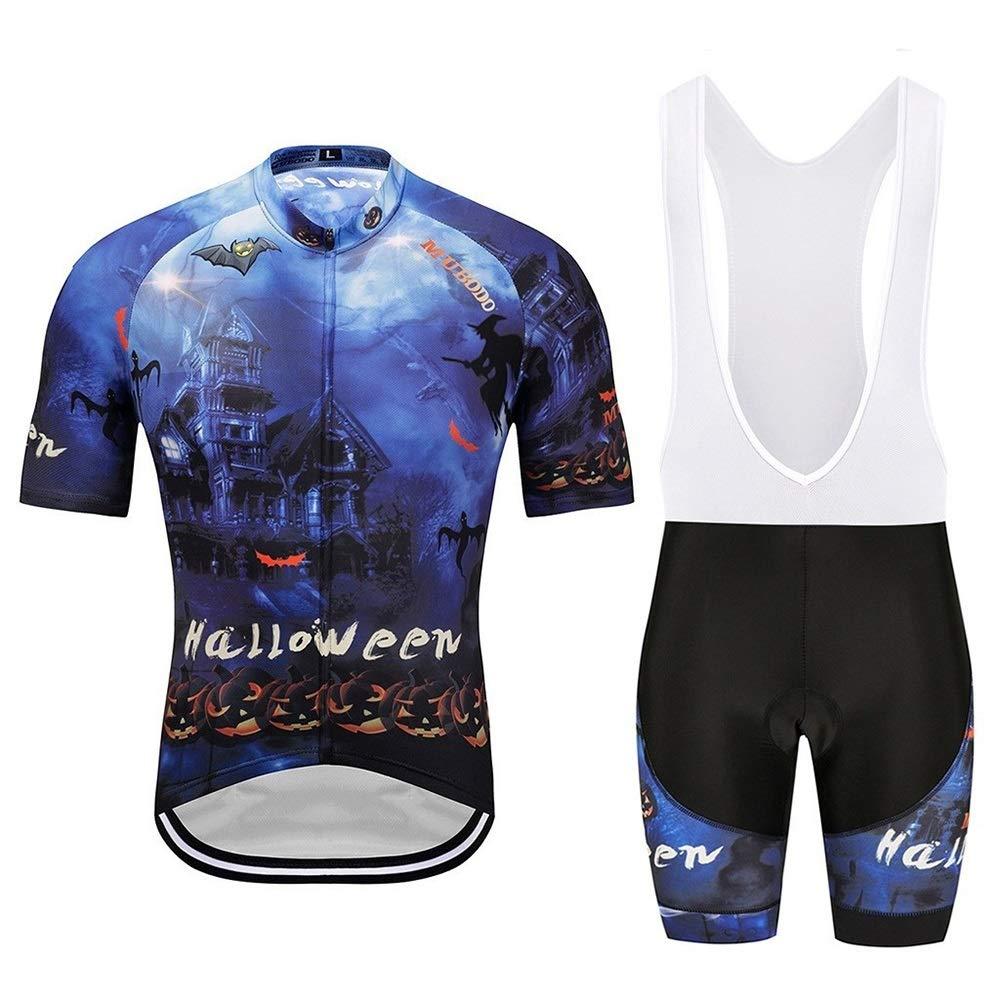 Männer und Frauen Sommer Dunkelblau Kurzarm Sportbekleidung Atmungsaktive Fahrradbekleidung Fahrrad Reitanzug Fahrrad Trikot LPLHJD