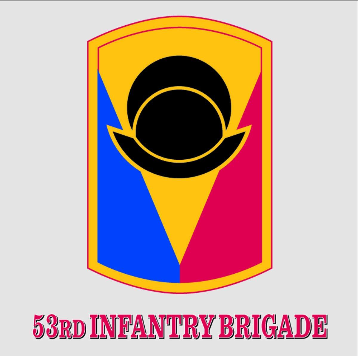 53rd Infantry Brigade パッチデカール B07GRD4522