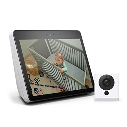 All-new Echo Show (2nd Gen) Bundle with Wyze Cam - Sandstone