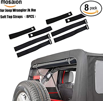 Amazon Com Youmi Durable Tie Down Straps Soft Top Straps For 2007