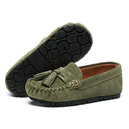 Zapatos para Niños Gamuza Cuero Primavera Otoño Niñas Zapatos y Mocasines Mocasín Zapatos Náuticos para Ocasiones