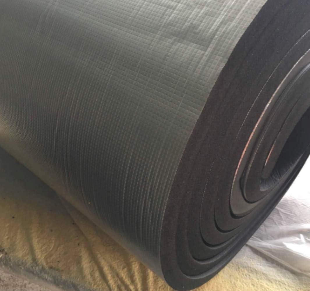 5mm R/énovation,100x40inches Bureau Mitef 250x100cm Isolation Tapis Aluminium Thermique L/ég/ère de Barri/ère Insonorisante de Chaleur pour la D/écoration de Mat-Automotive
