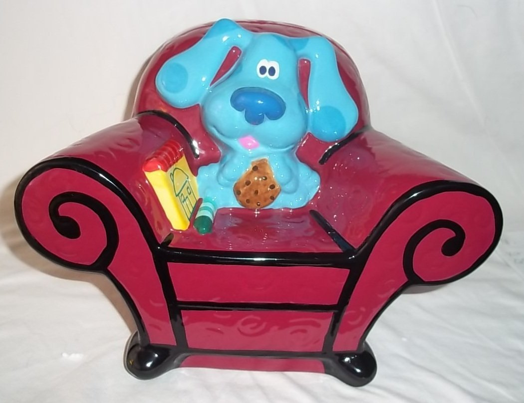 blues clues thinking chair for sale. Amazon.com: Zak Designs Blue\u0027s Clues Thinking Chair Cookie Jar: Kitchen \u0026 Dining Blues For Sale H