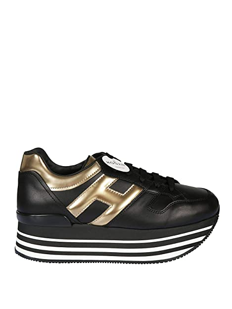 Hogan Sneakers Donna HXW2830T548JDS0JK7 Pelle Nero: Amazon