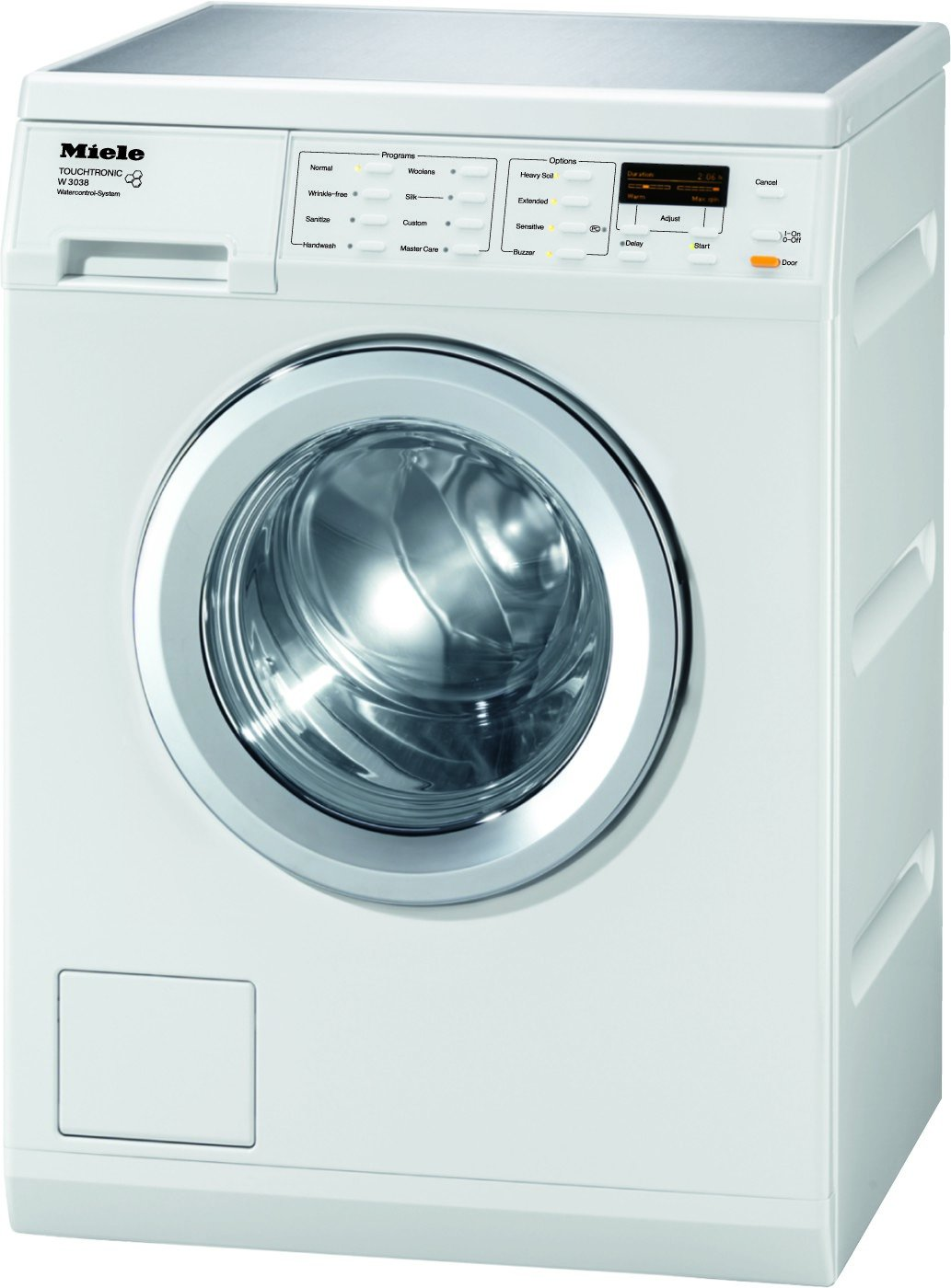 W3038 | Miele 24 Front Load Washer - White by Miele