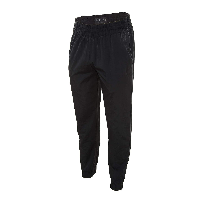 f39121ebef2 NIKE Jordan Sportswaer Men's AJ3 Retro Cuffed Track Pants - (Black) X-Large  at Amazon Men's Clothing store: