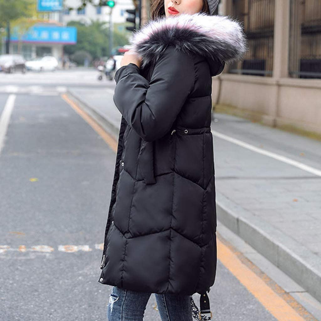 Poundy Womens Fashion Jacket Casual Lightweight Tops Coat Long Vest