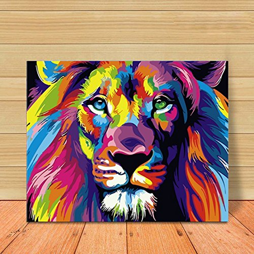 Paint with Diamonds Diamond Dotz Kits for Adults and Kid Colorful Loin