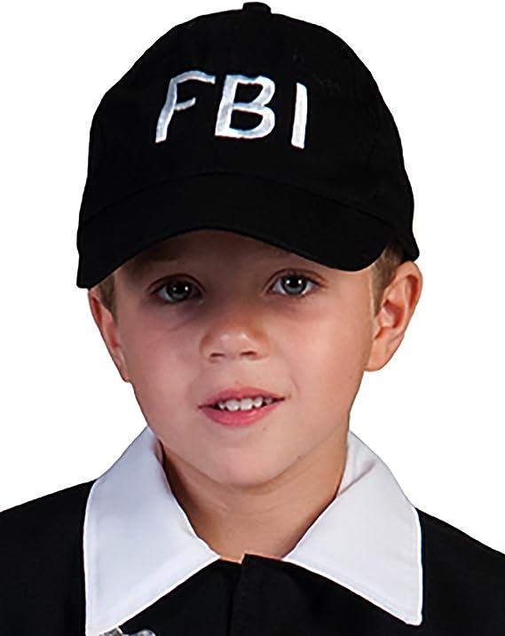 Halloweenia – Accesorio de disfraz de policía, fiesta temática FBI ...