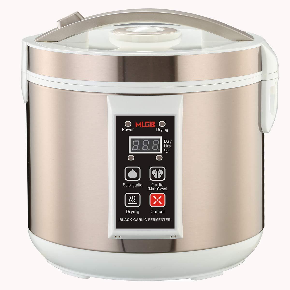 5L Black Garlic Fermenter Full Automatic Intelligent Control Garlics Maker Multi Clove Garlic DIY Cooker,120V - MLGB