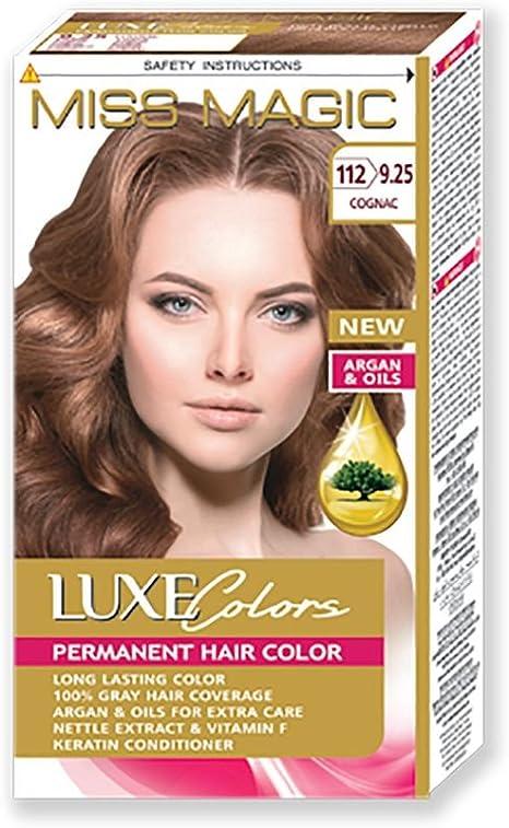 Tinta para pelo Miss Magic Tinte coñac Hair Colour con Argan ...