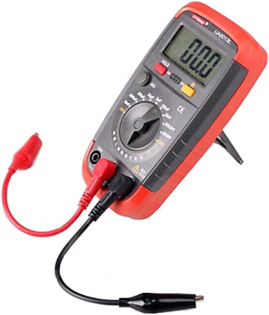 UA6013L Rango Automático Digital LCD Capacitor Capacitancia Medidor de Prueba Multímetro Medidor de Medición Tester