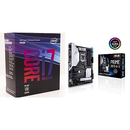 Intel Core i7-8700K Desktop Processor 6 Cores up to 4.7GHz Turbo Unlocked LGA1151