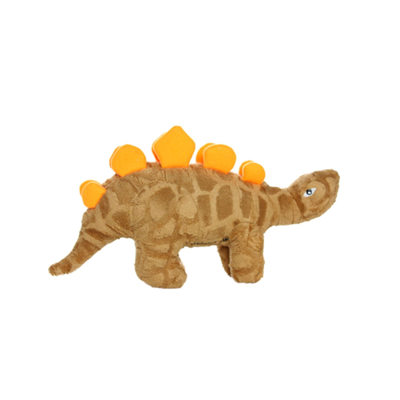 Junior Mighty Toys Stegosaurus Dinosaur Dog Toy, Junior