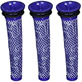 3 Pack Dyson Filter Replacements Pre Filters for Dyson V6, V7, V8, DC58, DC59 Vacuum. Replaces Part # 965661-01