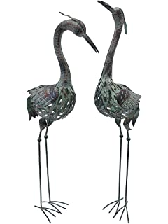 Amazoncom Garden Cranes set of 2 Patio Lawn Garden