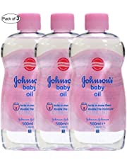Johnson's Baby Oil (300ml) (Pack of 3)