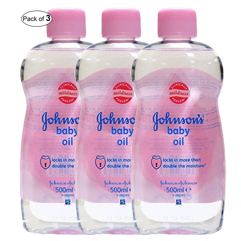 Johnson's Baby Oil (300ml) (Pack of 3) Johnson's
