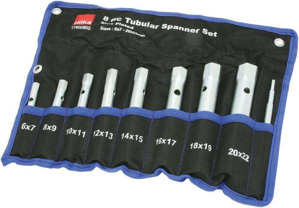 Silverline 589709 Box Spanner Metric Set 8-19 mm 6 Pieces