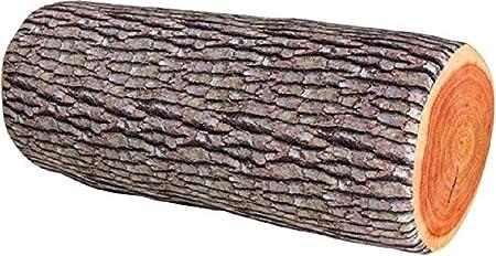 Coussin motif tronc darbre