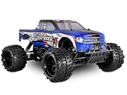 Buy Redcat Racing Rampage XT Gas Truck, Blue, 1/5 Scale Online at