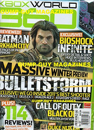 XBOX World 360 UK #97 HALO MAGAZINE & HALO REACH POSTER, REVIEW, TIPS & MORE Batman Arkham City: Five Pages Of Pics & Opinion DUKE NUKEM