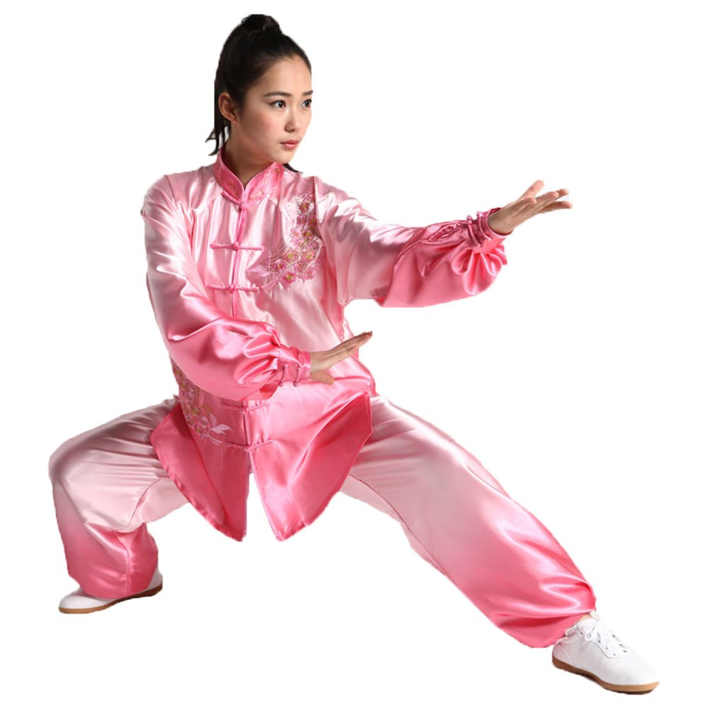 ZooBoo Womens Gradient Tai Chi Kung Fu Sets Martial Arts Uniforms
