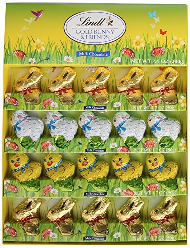 Lindt Bunny and friends Milk Chocolate 7.1 oz.-200g (Easter Bunny Chocolate compare prices)