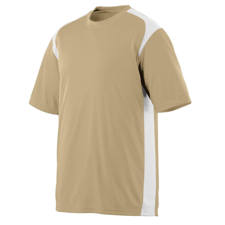 Augusta SportswearメンズGameday Crew B003WXVYW0 Large ゴールド/ホワイト(Vegas Gold/White) ゴールド/ホワイト(Vegas Gold/White) Large