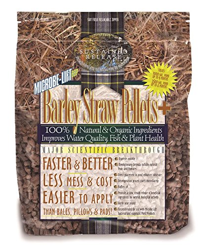 ECOLOGICAL LABORATORIES 240020 Microbe-Lift Barley Straw Pellets Plus , 25 (Lift Barley Straw Plus Pellets)