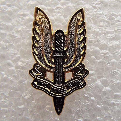 SAS Who Dares Wins Enamel Pin Badge with Gift - Form Small Sas
