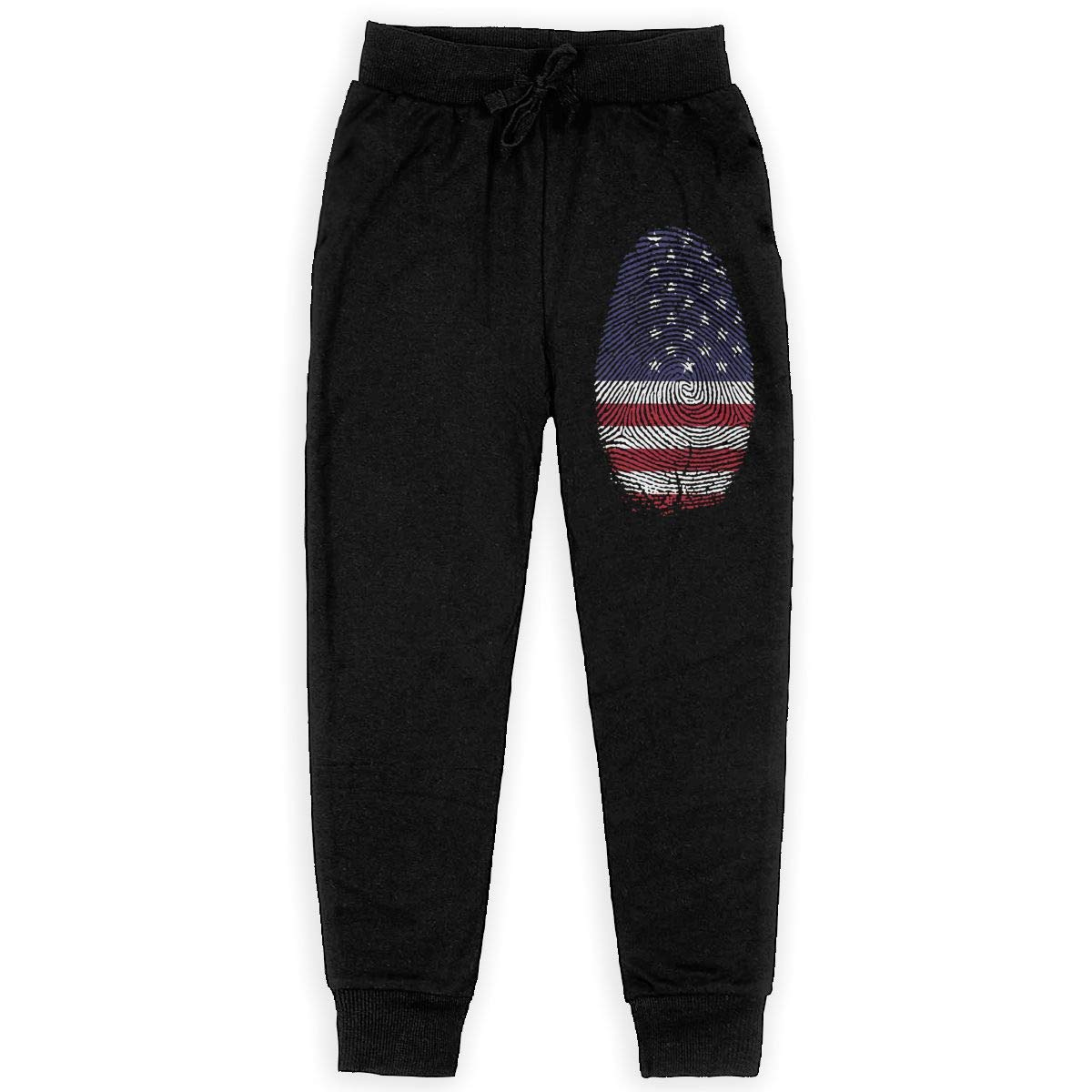 IufnNRJndfu America Boys Athletic Smart Fleece Pant Youth Soft and Cozy Sweatpants