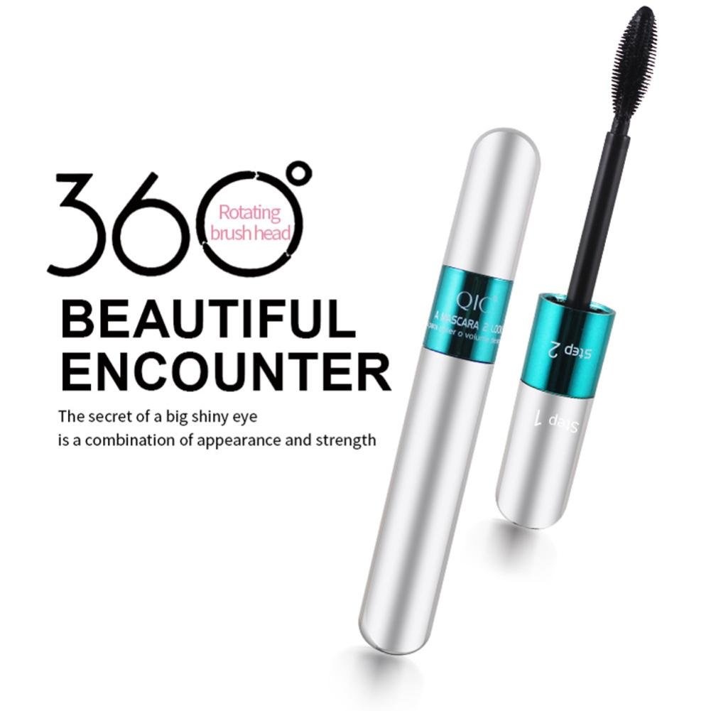 Amazon.com: 2In 1 Mascara XUANOU 3D Fiber Mascara Long Black Lash Eyelash Extension Waterproof Eye Makeup Extension Tool: Health & Personal Care