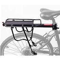 AUSELECT Bike Bicycle Cargo Rack Rear Bike Pannier Rack Quick Release Mountain Road Bike Carrier Rack (60KG/120KG…