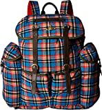 Vivienne Westwood  Men's Africa Army Backpack Blue One Size
