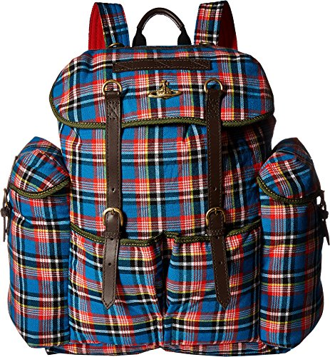 Vivienne Westwood  Men's Africa Army Backpack Blue One Size by Vivienne Westwood
