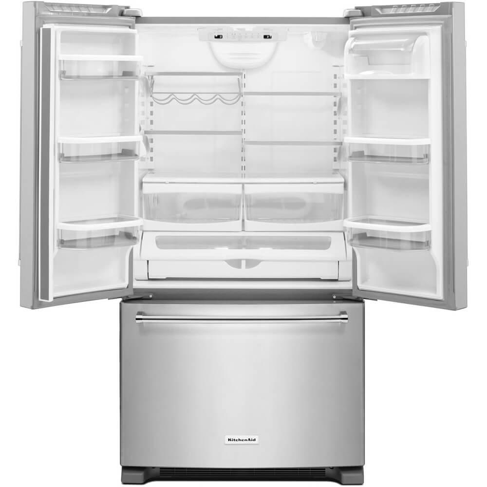 Amazon.com: Kitchen Aid KRFC300ESS KRFC300ESS 20 Cu. Ft. Stainless  Counter Depth French Door Refrigerator: Appliances