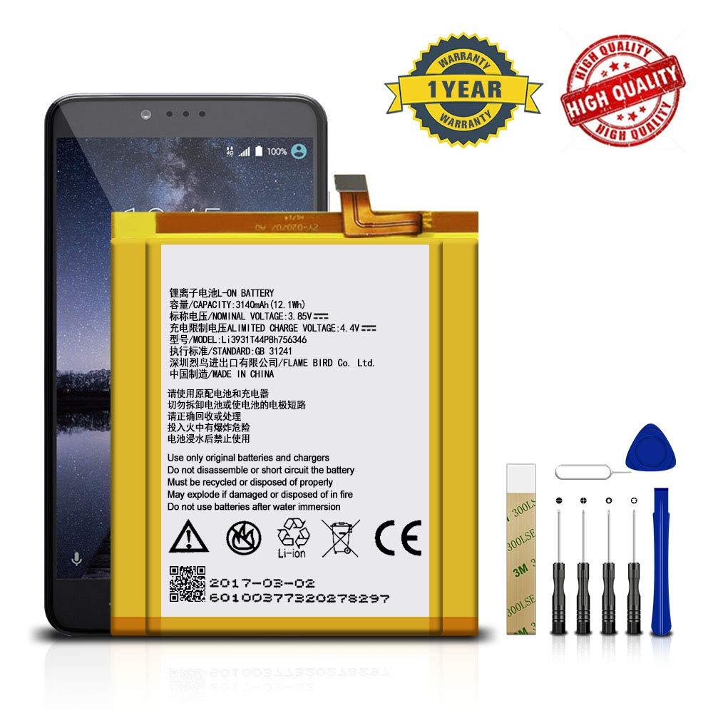 Bateria Celular Para Zte Axon 7 A2017u Li3931t44p8h756346 Adhesive Tool