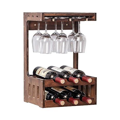 Armarios de vino HLR Botellero Botellero De Pared, Botellero De ...