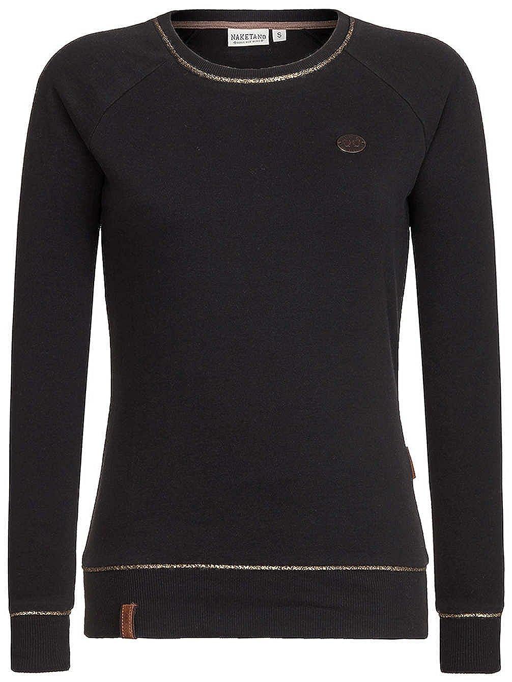 Naketano Damen Sweater Wof/Ã/¼r Reden Sweater