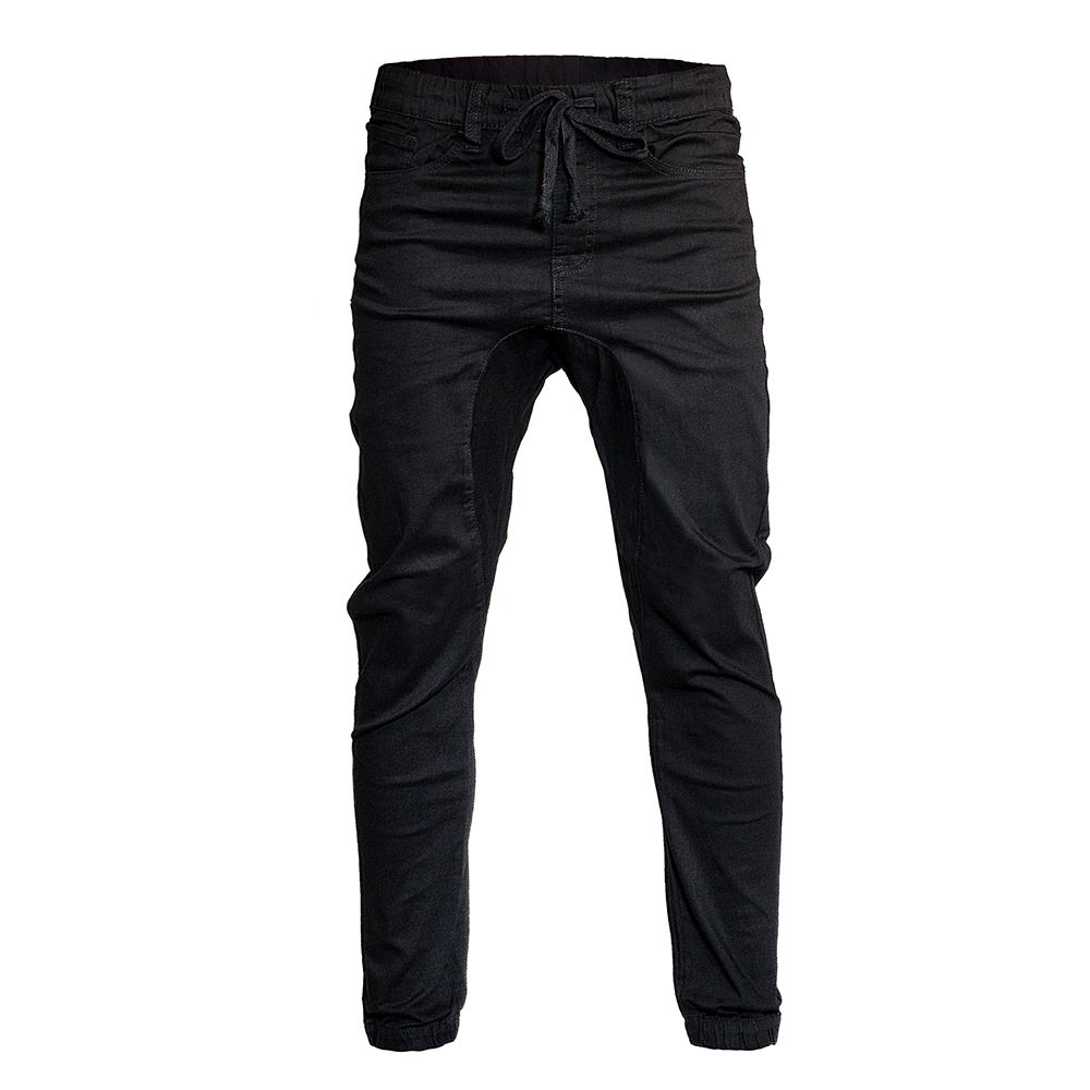 Minimal Clothing Men's Trendy Harem Twill Slim Fit Jogger Pants