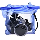 Tonsee® Waterproof Camera DSLR Case Underwater Pouch Bag For Canon For Sony (Blue)